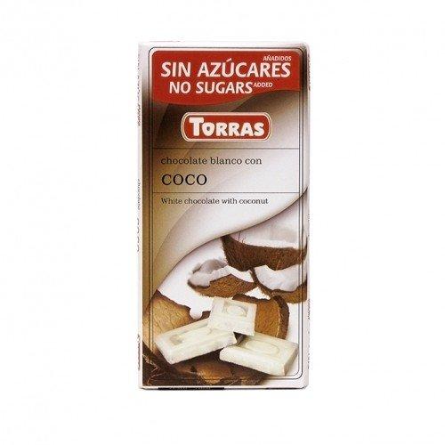 Cioccolato bianco al cocco