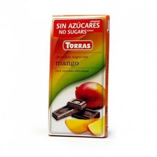 Cioccolato fondente al mango