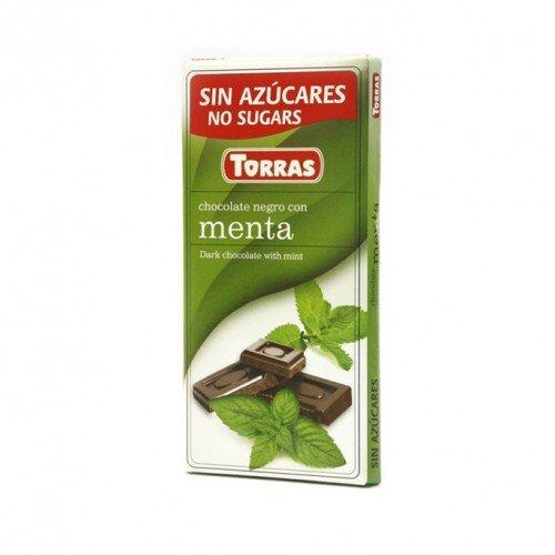 Cioccolato fondente alla menta