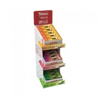Box Barrette Stevia 72pz